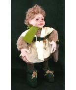 "Woodland Forest Elf Pixie Doll Porcelain Head Hands Fantasy 16"" - $29.99"