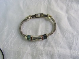 "Brighton Bracelet Silver Plated Closure: Fold over clasp Length: 7 1/2"" - $24.73"
