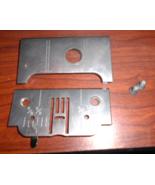 Kenmore Free Arm 158.11789180 Throat Plate #61807 w/Screws & Bobbin Cove... - $20.00
