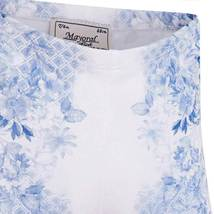 Mayoral Baby Girls Blue/White Floral Printed Leggings image 3