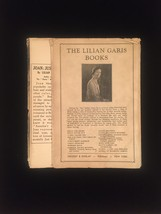 """1924 """"Joan: Just Girl"""" by Lilian Garis frame-ready dust jacket (no book) image 2"""