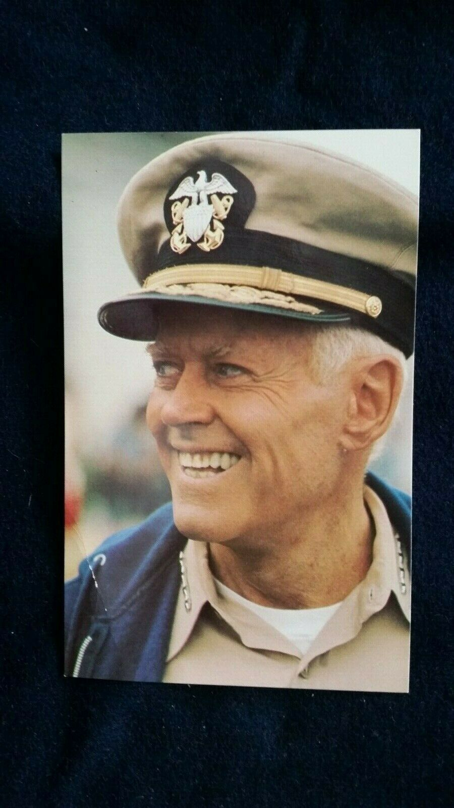 Primary image for Henry Fonda U.S. Navy World War II Military - Movie Actor Postcard 1979!