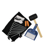 Chinook Tent Accessory Kit w/Mallet Brush Dustpan Rope Pegs & Bag - $24.79