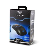 AULA Skyline Gaming Mouse Wired 3 Color LED Light Black Blue 1000/1600 DPI - $15.85