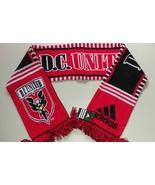Adidas MLS Soccer Scarf Acrylic DC United MLS Team League - $15.00