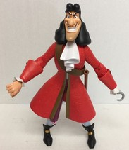 """Disney Store Adventurers Fully Poseable Captain Hook 12"""" Action Figure P... - $29.68"""