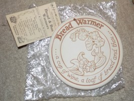 Heart Land Studios Bread and & Bun Warmer 1990 Heart Land Studios NEW - $16.20