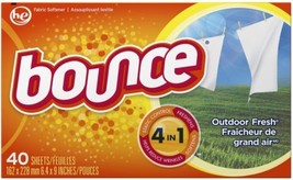 Bounce Fabric Softener-Sheet 40 Count Fabric Softener - $3.79