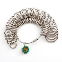 Ring Sizer + Mandrel Stick Finger Gauge Jewellery Metal Size Measuring T... - $19.19