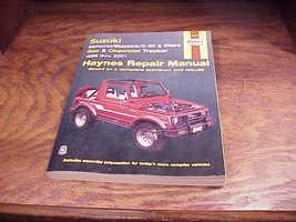 Haynes Repair Manual for Suzuki Samurai, Sidekick, X-90, Vitara Geo 1986... - $9.95