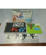 1960 Colorforms Walt Disney DONALD DUCK Cartoon Kit IOB - $9.95