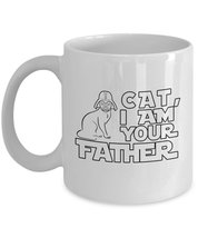 Funny Mug-Cat I am Your Father-Best Gifts for Father Dad-11 oz Coffee Mug - $13.95
