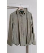 Lauren Ralph Lauren Men Shirt Long Sleeve Olive Green XL Size - $11.62