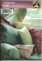 Simplicity #4600, Decorator Pillows for the Home - $12.74