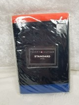 Tommy Hilfiger Nautical Standard Pillow Sham New Old Stock Red Blue - $18.69