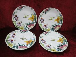"Lenox Floral Meadow set of 4 salad plates 9"" medley  - $49.45"