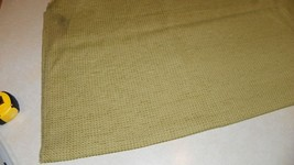 Sage Green Slub Nylon Upholstery Fabric Remnant  F1323 - $39.95