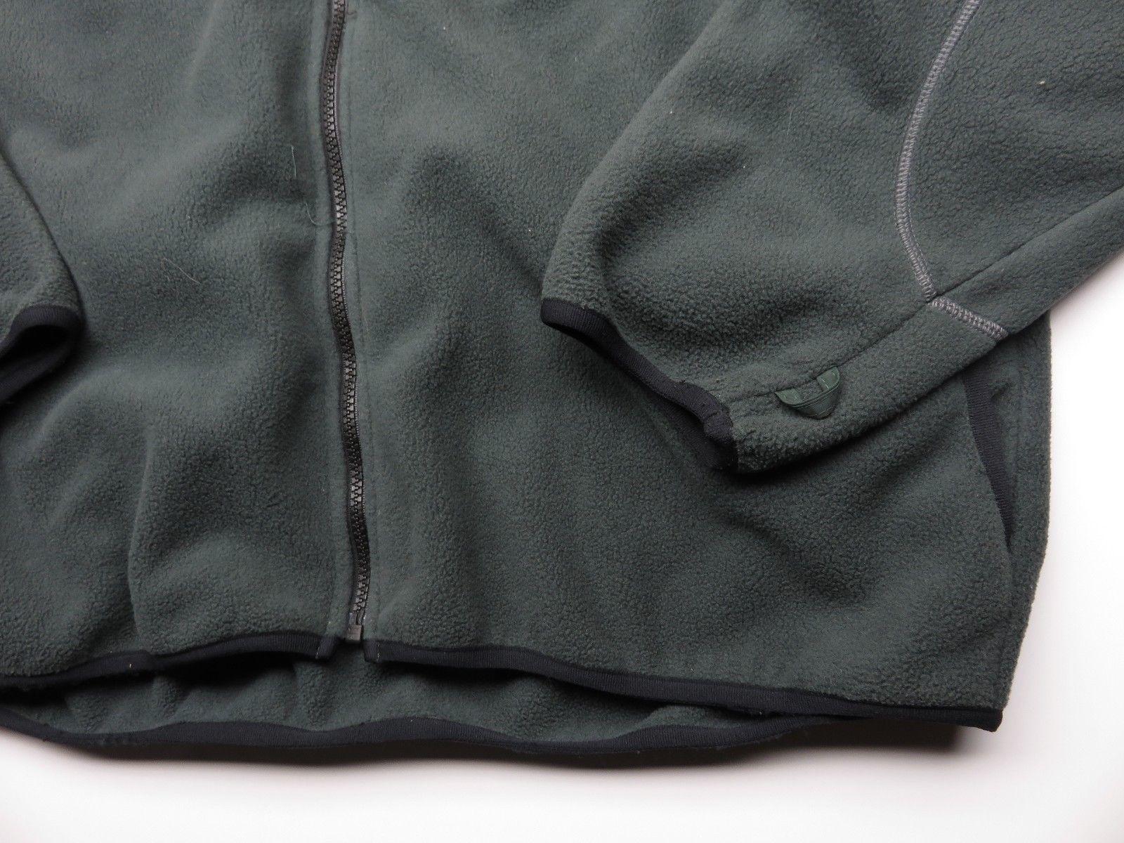 Green TIMBERLAND Outdoor Performance Fleece Full Zip Up Jacket Adult Men's Sz L