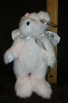 """2000 TY """"The Attic Treasures Collection""""  """"Olympia"""" Pink Jointed bear w wings - $9.99"""