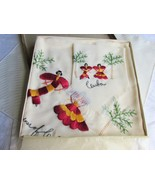 Rare 1940s Vingtage Cuba Souvenir Embroidered Salsa Dancers Dresser Scar... - $30.00