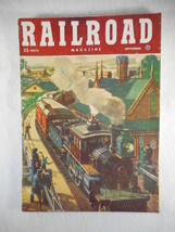 Vintage Railroad Magazine November 1951 Train on Cover - $12.82