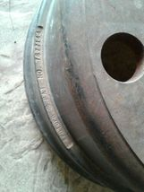 CONMET BRAKE DRUM- TRUTURN 100099206 rusty from storage. image 4