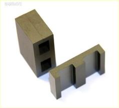 "Power Ferrite ETD39 Transformer Cores Gapped 0.12/"" 2.8mm 1 Set"