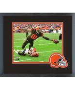 Rashard Higgins 2018 Cleveland Browns Action-11x14 Team Logo Matted/Fram... - $43.55