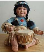 SONG OF THE SIOUX BY PERILLO COLLECTABLE DOLL - $45.00