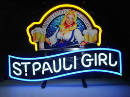 """New St Pauli Girl Beck's Bremen Beer Lager Neon Sign 17""""x14"""" NT46M Free Shipping - $95.00"""