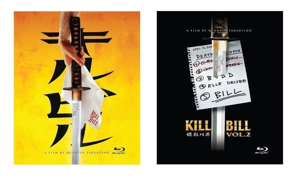 Kill Bill: Volume 1 and Volume 2 Limited Edition Steelbooks [Blu-ray]
