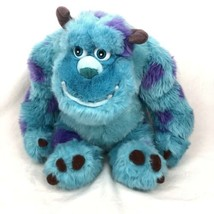 "Sully Monsters Inc Disney Parks Plush Pixar Sulley Stuffed Animal 11"" - $19.79"