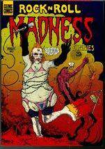 Rock n Roll Madness #2, Cozmic Comics 1984, British Underground comix - $8.25