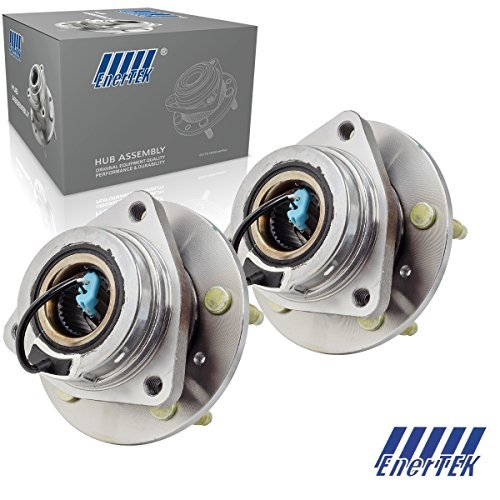 2 Pcs Front Wheel Hubs & Bearings Fit For 1994-1996 Buick