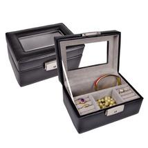 ROYCE LEATHER Kate Jewelry Box Black 964-6 BLK - €39,87 EUR