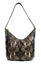 NWT GUCCI 308981 Soho Python Shoulder Bag, Multicolor - $1,690.65