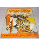Vintage Choo Choo Little Switch Engine DJ Clarence Biers Illustratred 1946 - $9.95