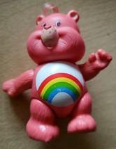 Vintage Care Bears Poseable Figure Cheer Bear 1983 Kenner Rainbow - $10.66