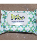 Kandoo Flushable Cleaning Wipes, Sensitive, 50 Wipes Ship From USA - $2.94