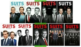 Suits Complete Series Season 1 2 3 4 5 6 7 8 9 DVD Set New Sealed Collection 1-9 - $69.00