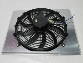 "AFCO RADIATOR FAN SHROUD with SINGLE ELECTRIC FAN Aluminum for 22 3/4"" c... - $179.99"