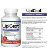 LipiCept Cholesterol Support Dietary Vegetarian Formula Supplement - 120... - $59.99