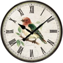 Westclox 32897BS 12-Inch Bird Wall Clock - $27.50