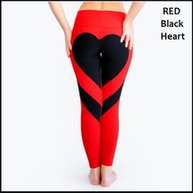 Love Heart Bottom Ladies High Waist Skin Tight Stretch Yoga Workout Leggings image 5