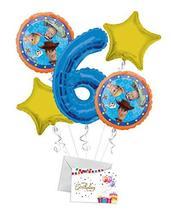 Toy Story 4 Happy Birthday Balloon Bouquet (5 Balloons), 6th Birthday   ... - $12.99