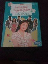 To All The Boys I've Loved Before Party Game for Ages 14 and Up - $20.00