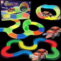 128 Piece Glow in the Dark Race Track Sets (WHOLESALE BULK LOT OF 4X) - $49.45