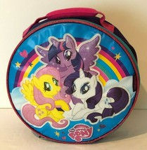 My Little Pony Thermos Insulated Lunch Bag Box Storage Bag Tote Zippered... - $19.99
