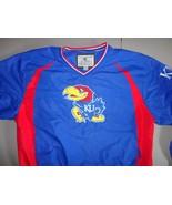 Colosseum Athletics Kansas Jayhawks NCAA V Neck SEWN Jacket Adult L EXCE... - $34.85