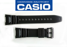 Genuine Casio Rubber Black Digital Compass Twin Sensor Watch Band Strap ... - $21.95
